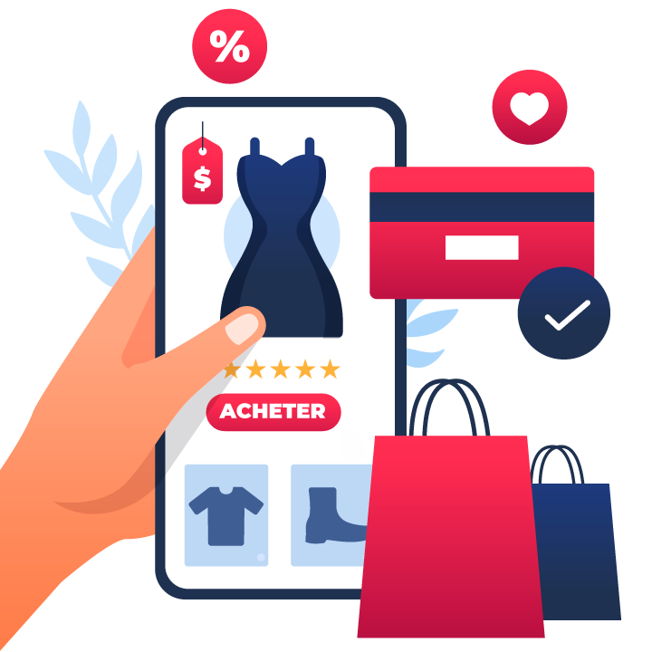 site e-commerce avec click and collect